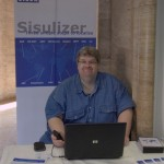 Sisulizer's booth
